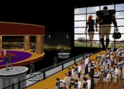 Virtual Celebrity Islands 3D TV Studio