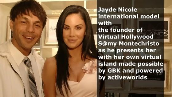 Jayde Nicole and Samy Montechristo