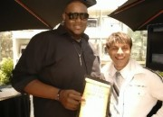 Abraham McDonald Oprah Winner with Virtual Hollywood Founder Samy Montechristo